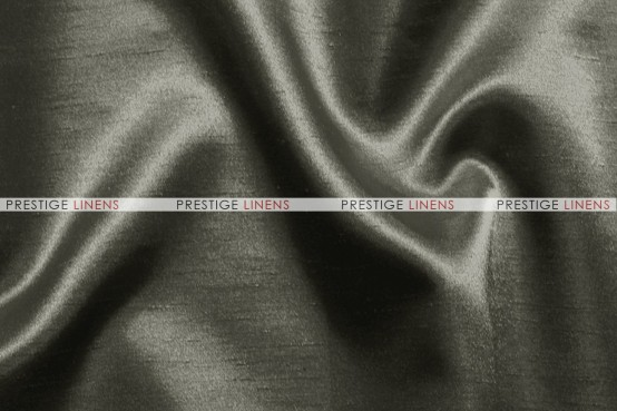 Shantung Satin Chair Caps & Sleeves - 1139 Charcoal