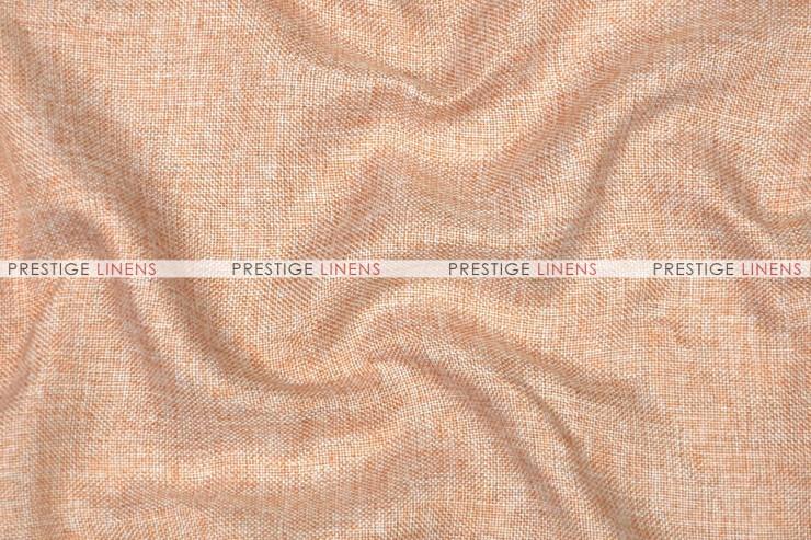 Vintage Linen Pad Cover-Peach