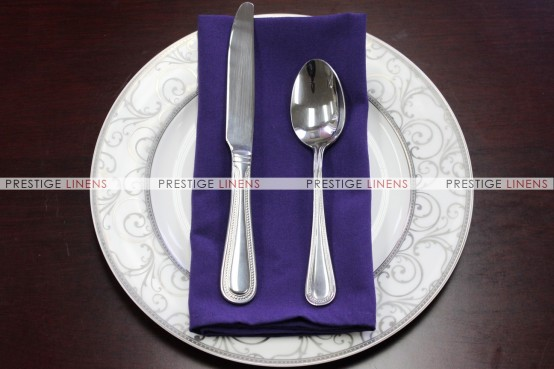 MJS Spun Poly Napkin - Purple