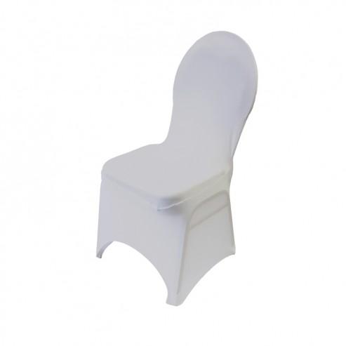 Spandex Banquet Chair Cover - White