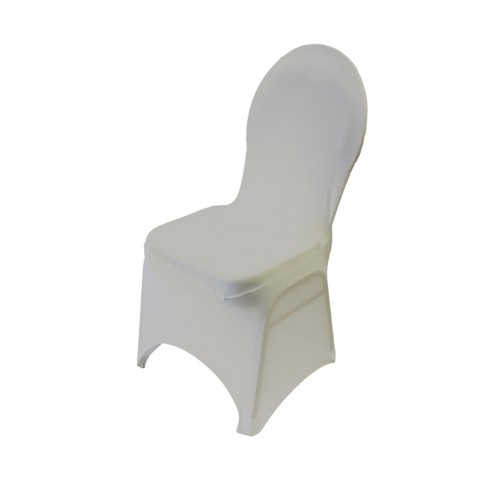 Spandex Banquet Chair Cover - Ivory