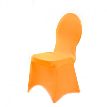 Spandex Banquet Chair Cover - Orange