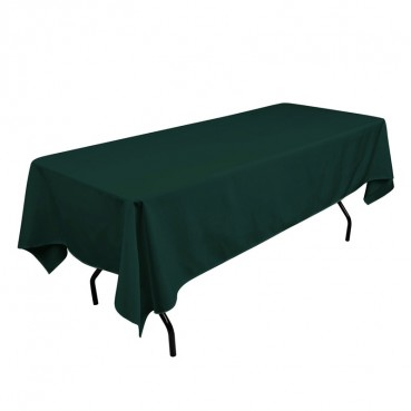 Polyester Tablecloth - 60 x 108 - Hunter