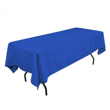 Polyester Tablecloth - 60 x 108 - Royal