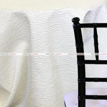 Sahara Table Linen - Winter White