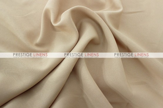Polyester (Double Width) Draping - 130 Champagne