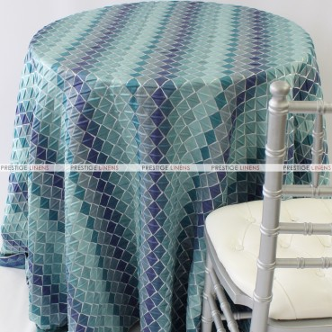 MOTLEY TABLE LINEN - AQUAMARINE
