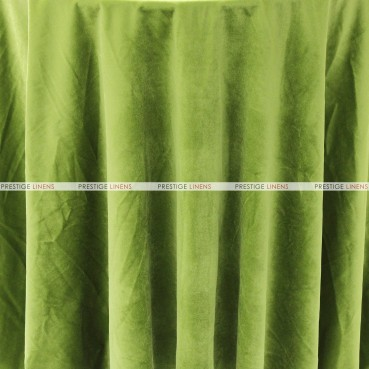 "Velveteen Draping - 72"" Wide - Apple Green"