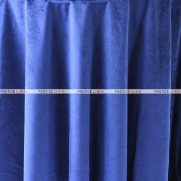 "Velveteen Draping - 72"" Wide - Blue"