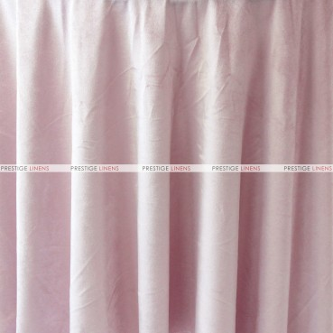 "Velveteen Draping - 72"" Wide - Blush"