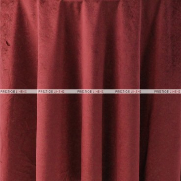 "Velveteen Draping - 72"" Wide - Burgundy"