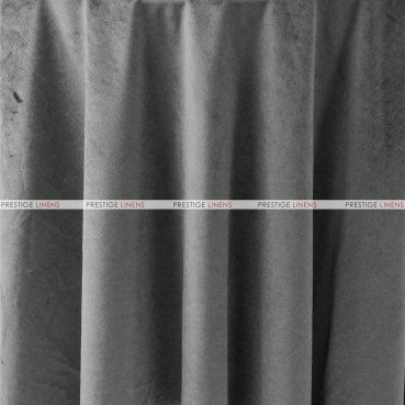 "Velveteen Draping - 72"" Wide - Charcoal"
