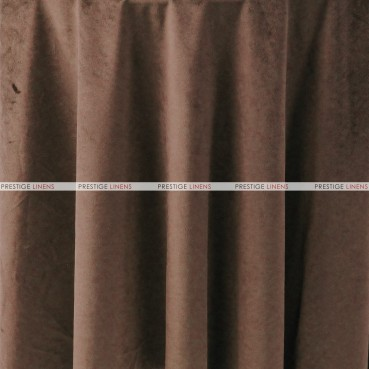 "Velveteen Draping - 72"" Wide - Chocolate"