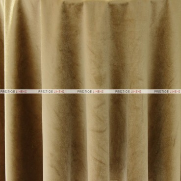 "Velveteen Draping - 72"" Wide - Gold"
