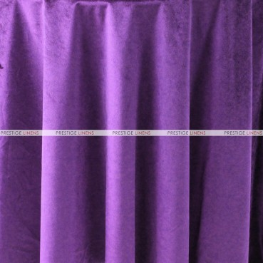 "Velveteen Draping - 72"" Wide - Plum"