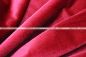 "Velveteen Draping - 72"" Wide - Red"