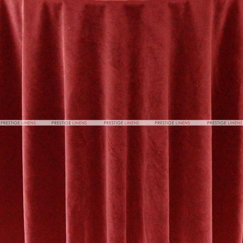 """Velveteen Draping - 72"""" Wide - Red"""