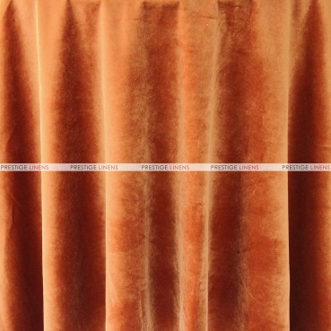 "Velveteen Draping - 72"" Wide - Rust"