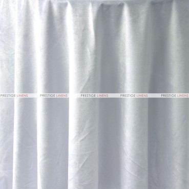 "Velveteen Draping - 72"" Wide - White"