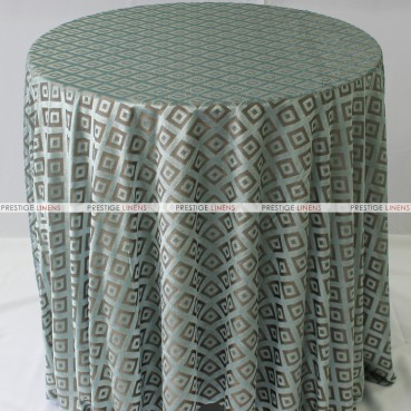 Sheer Illusion Table Linen - Diamond - Blue