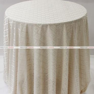 Sheer Illusion Table Linen - Diamond - Natural
