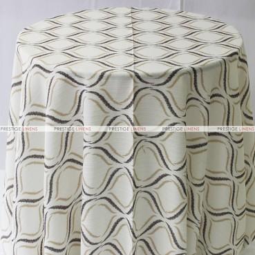 Tiffany Table Linen - Coffee
