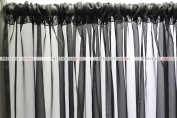 Voile Draping - Black