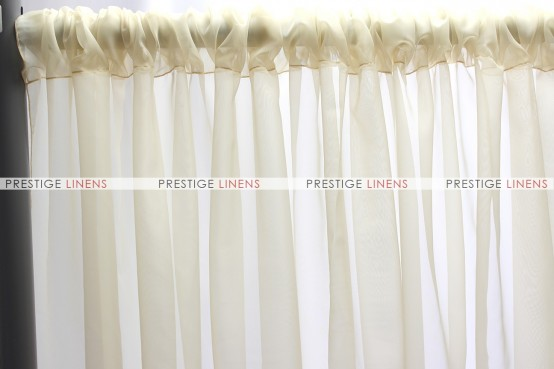 Voile Draping - Champagne