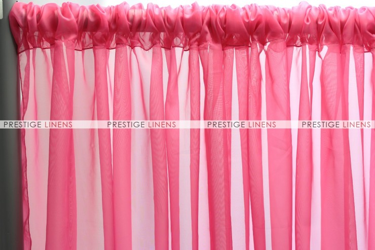 Voile Draping - Hot Pink