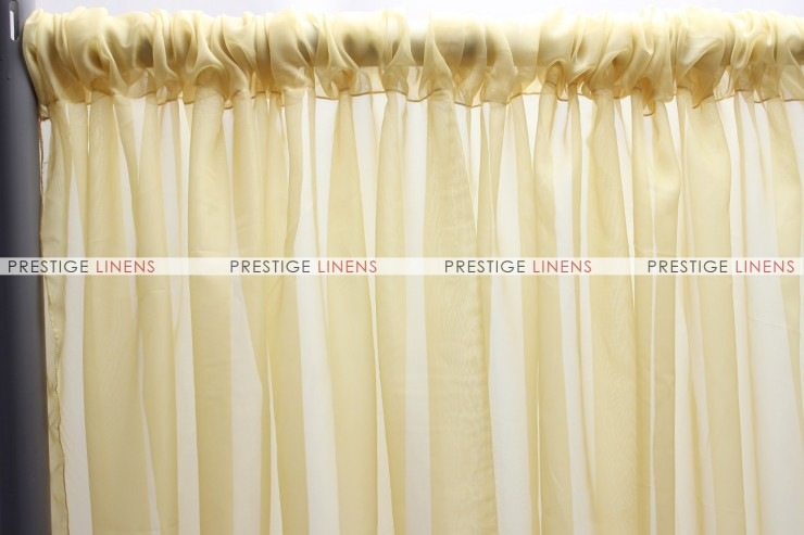 Voile Draping - Gold