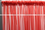 Voile Draping - Red