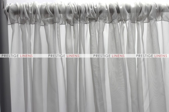 Voile Draping - Silver