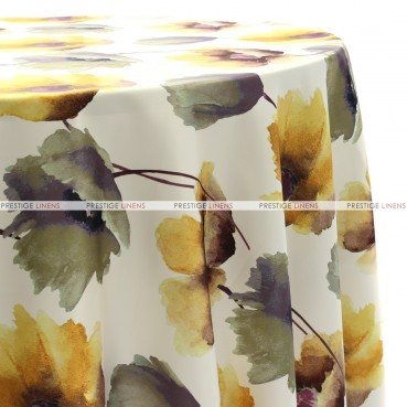 HIBISCUS TABLE LINEN - SUNFLOWER
