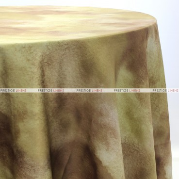 TIE DYE TABLE LINEN - BROWN