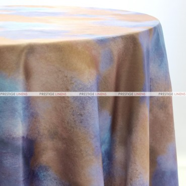 TIE DYE TABLE LINEN - NAVY
