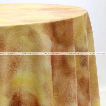 TIE DYE TABLE LINEN - SUNFLOWER