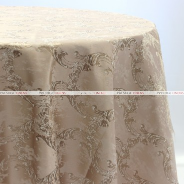 BEETHOVEN DAMASK TABLE LINEN - BLUSH