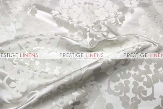 Regal Jacquard Draping - White