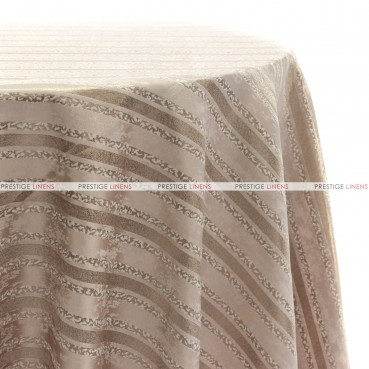 BEETHOVEN STRIPE TABLE LINEN - BLUSH