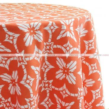 Aspidoras Table Linen - Coral