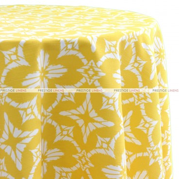 Aspidoras Table Linen - Yellow