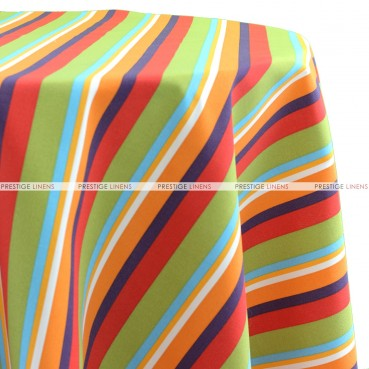 Summer Stripe Table Linen - Multi Color