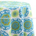 Sundial Table Linen - Green Flower