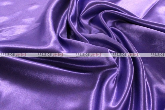Bridal Satin Table Skirting - 1032 Purple