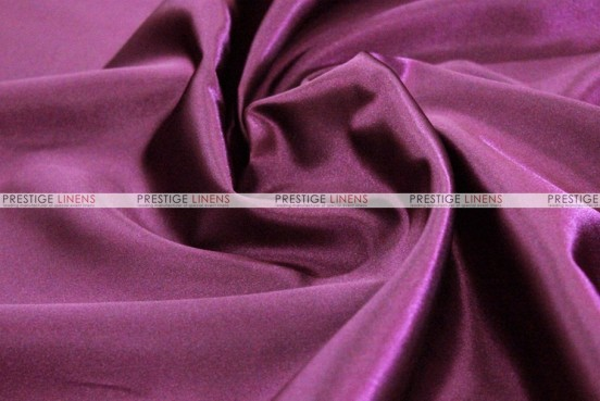Bridal Satin Table Skirting - 1034 Plum