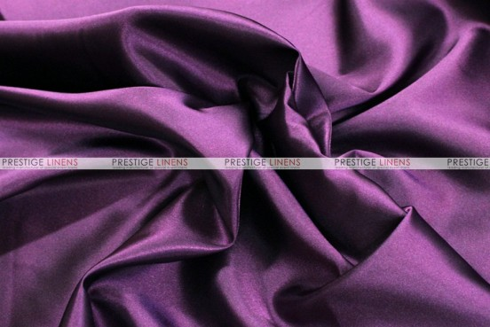 Bridal Satin Table Skirting - 1047 Dk Plum