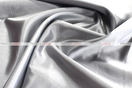 Bridal Satin Table Skirting - 1126 Silver