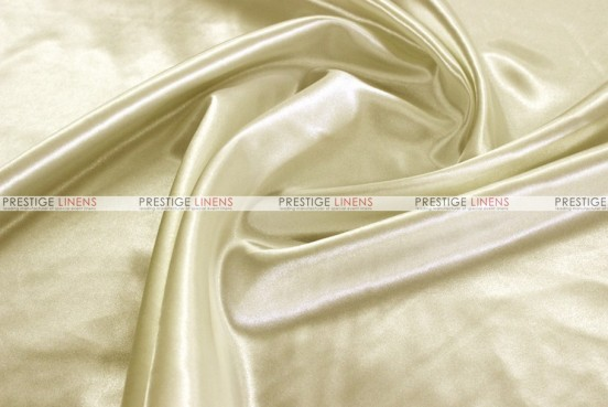 Bridal Satin Table Skirting - 128 Ivory
