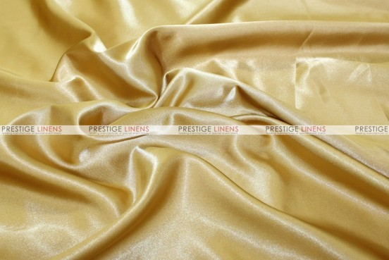 Bridal Satin Table Skirting - 230 Sungold