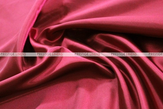 Bridal Satin Table Skirting - 627 Cranberry